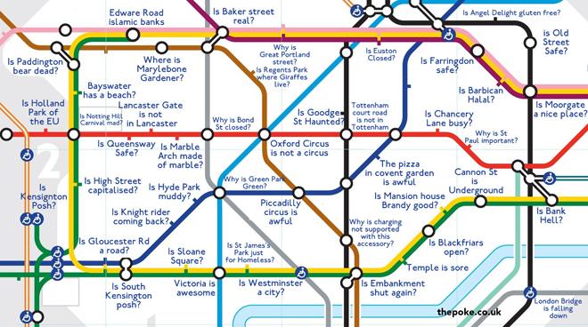 Estações De Metro Londres Mapa.E Agora O Mapa Do Metro De Londres Autocompletado Pelo